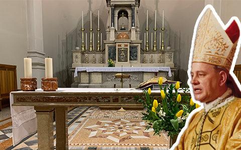 Messa in suffragio del vescovo Eugenio