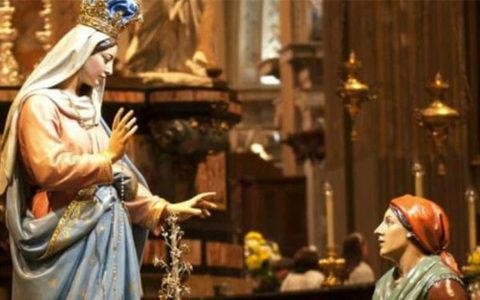 Rosario e atto di Affidamento dell'Italia a Maria