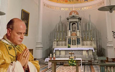 Streaming della Veglia per il vescovo Eugenio