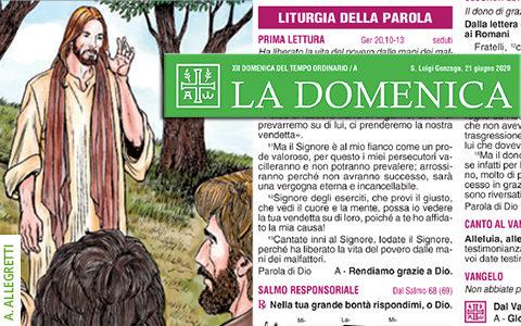 Foglietto La Domenica – XII Domenica fra l'Anno (A)