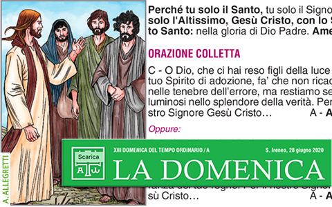 Foglietto La Domenica – XIII Domenica fra l'Anno (A)
