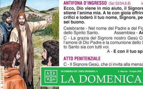 Foglietto La Domenica – XVI Domenica fra l'Anno (A)