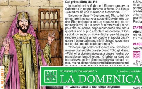 Foglietto La Domenica – XVII Domenica fra l'Anno (A)