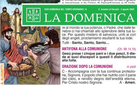 Foglietto La Domenica – XVIII Domenica fra l'Anno (A)