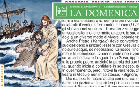 Foglietto La Domenica – XIX Domenica fra l'Anno (A)
