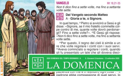 Foglietto La Domenica – XXIII Domenica fra l'Anno