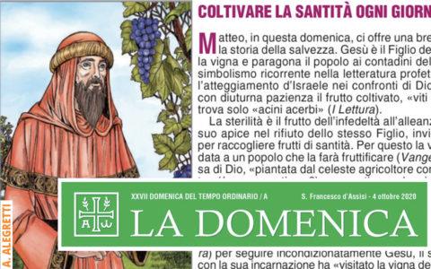 Foglietto La Domenica – XXVII Domenica fra l'Anno