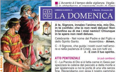"""Foglietto """"La Domenica"""" – 1a domenica di Avvento"""