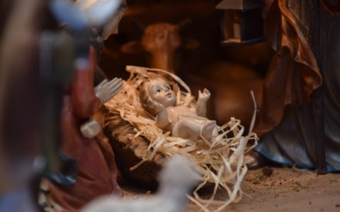 Benedizione statuine Gesù Bambino
